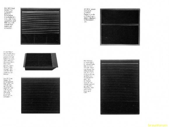 Braun Atelier Geräteschrank GS3